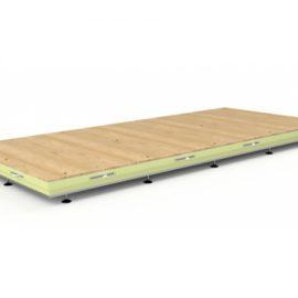 verstelbare vloeren voor koel en vriescellen | Poly Roermond AC Products