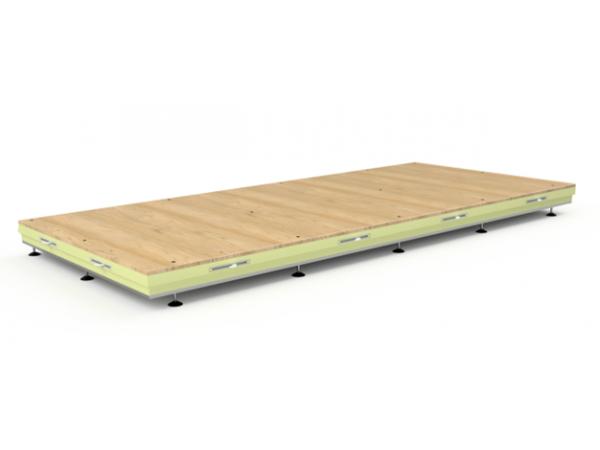 verstelbare vloeren voor koel en vriescellen   Poly Roermond AC Products