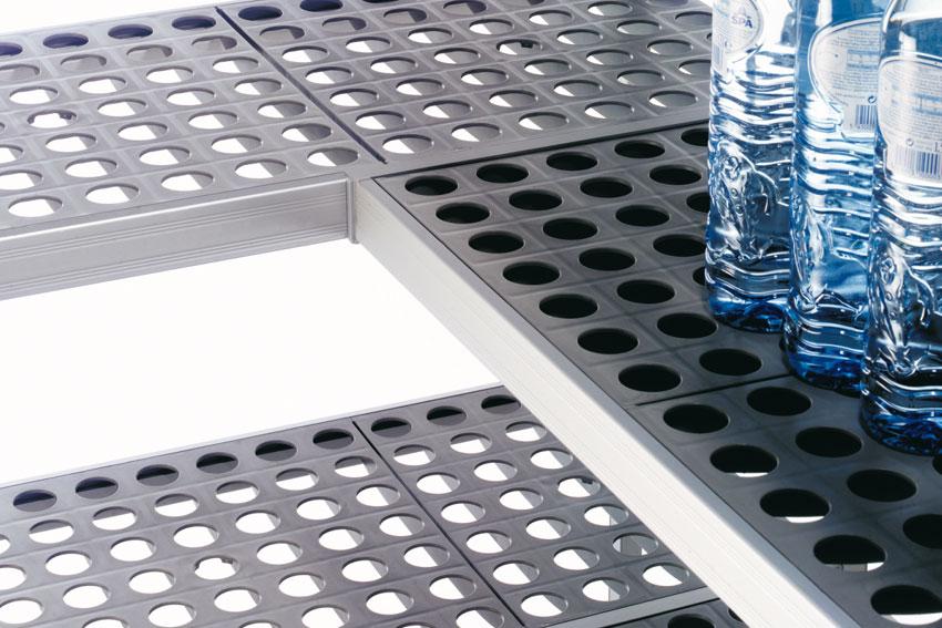 modulaire rekstellingen voor koelkasten